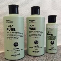 Produktbild zu Udo Walz I AM PURE Haarpflegeserie