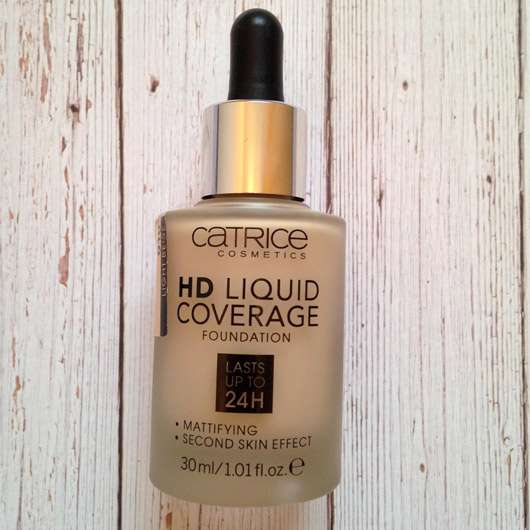 Catrice HD Liquid Coverage Foundation, Farbe: 010 Light Beige