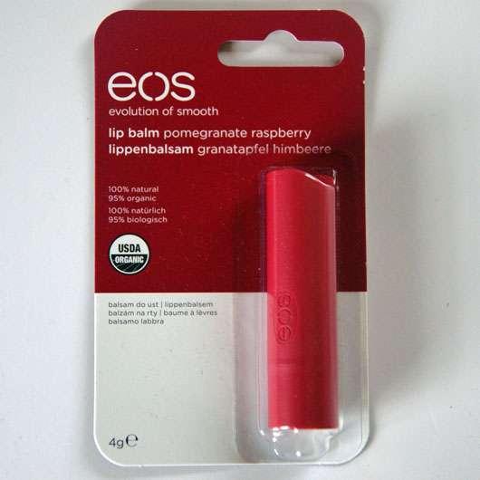 eos Smooth Spheres Organic Lip Balm, Sorte: Pomegranate Raspberry (Stift)