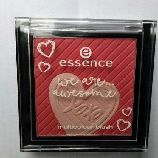 essence we are... awesome multicolour blush, Farbe: 01 you & me = awesome (LE) - Verpackung