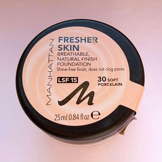 Manhattan Fresher Skin Foundation, Farbe: 30 Soft Porcelain