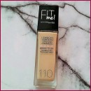 Maybelline Fit Me Luminous + Smooth Foundation, Farbe: 110 Porcelain
