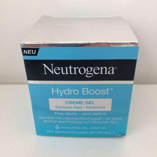 test tagespflege neutrogena hydro boost creme gel. Black Bedroom Furniture Sets. Home Design Ideas