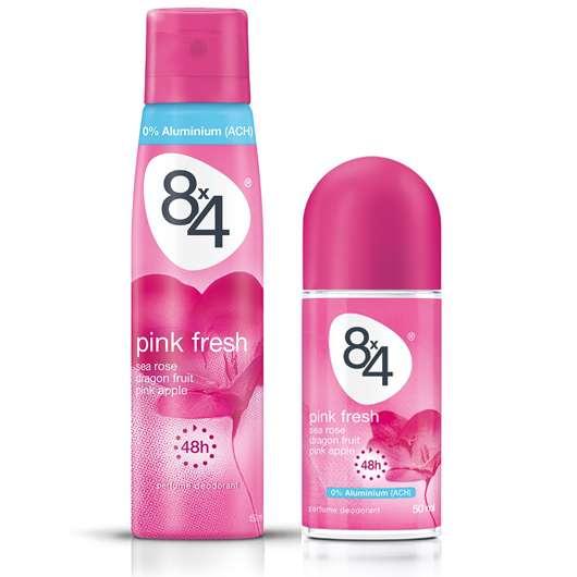 8×4 Pink Fresh Spray und Roll-On