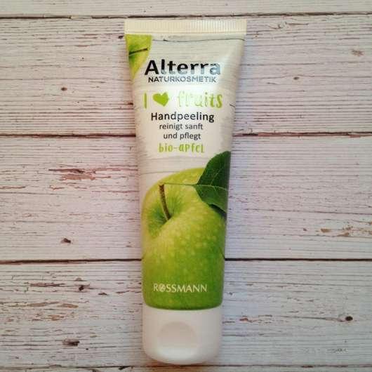 Alterra Naturkosmetik I love fruits Handpeeling Bio-Apfel (LE)