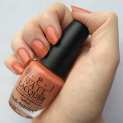 Produktbild zu OPI Nail Lacquer – Farbe: Freedom of Peach (LE)