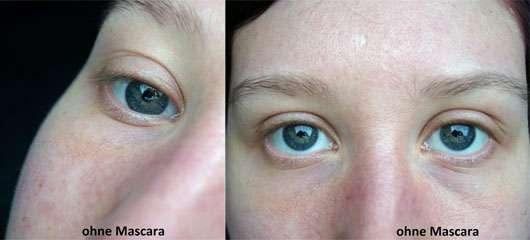 Terra Naturi Extreme Black Mascara - Augen ohne Mascara