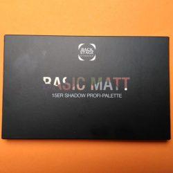 Produktbild zu Backstage Make-up Basic Matt 15er Shadow Profi-Palette