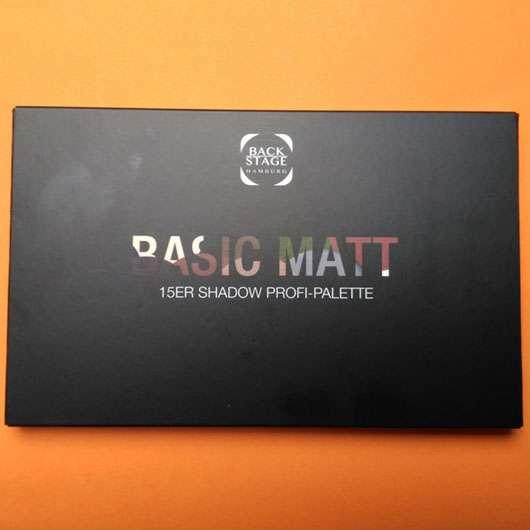 Backstage Basic Matt 15er Shadow Profi-Palette
