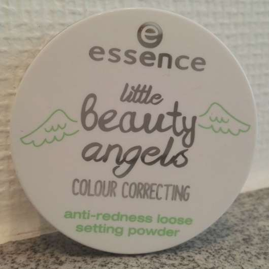 essence little beauty angels colour correcting anti-redness loose setting powder (LE)
