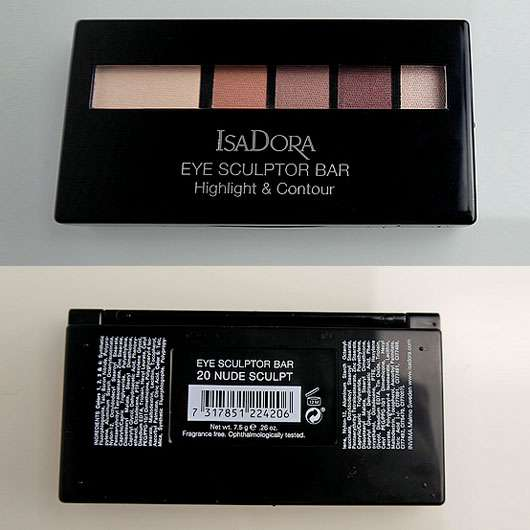 IsaDora Eye Sculptor Bar Highlight & Contour, Farbe: 20 Nude Sculpt (LE) Verpackung