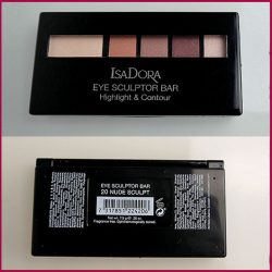 Produktbild zu IsaDora Eye Sculptor Bar Highlight & Contour  – Farbe: 20 Nude Sculpt (LE)