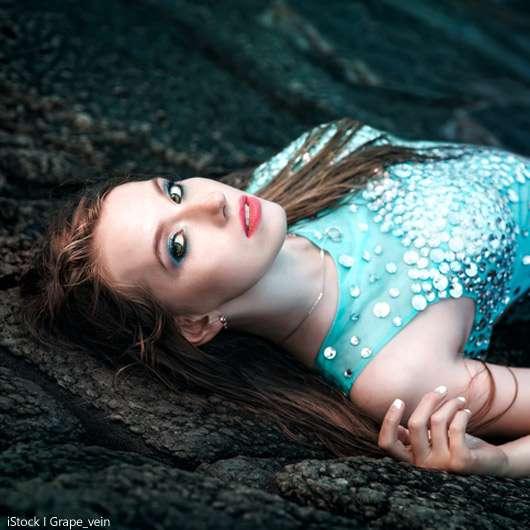 Mermaid-Look oder Wet-Glow-Finish