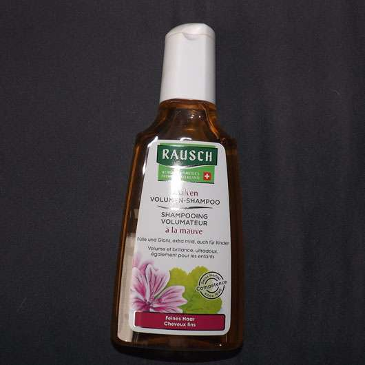 test shampoo rausch malven volumen shampoo testbericht von vivivw. Black Bedroom Furniture Sets. Home Design Ideas