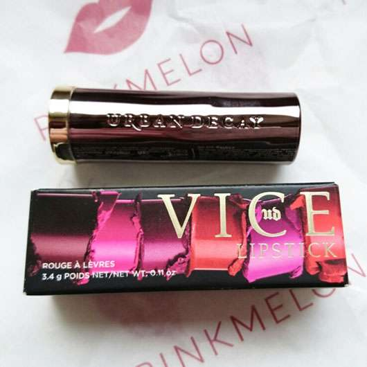 Urban Decay VICE Lipstick, Farbe: F-Bomb (Cream Finish)