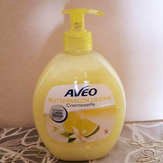 Aveo Buttermilch Limone Cremeseife - Flasche