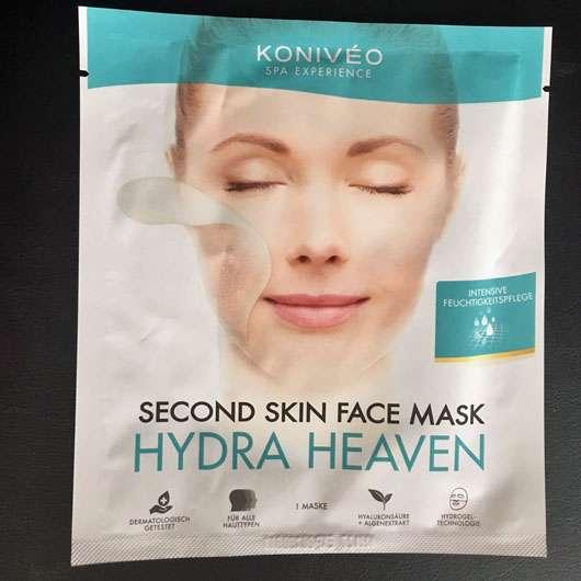 KONIVÉO Second Skin Face Mask HYDRA HEAVEN - Sachet