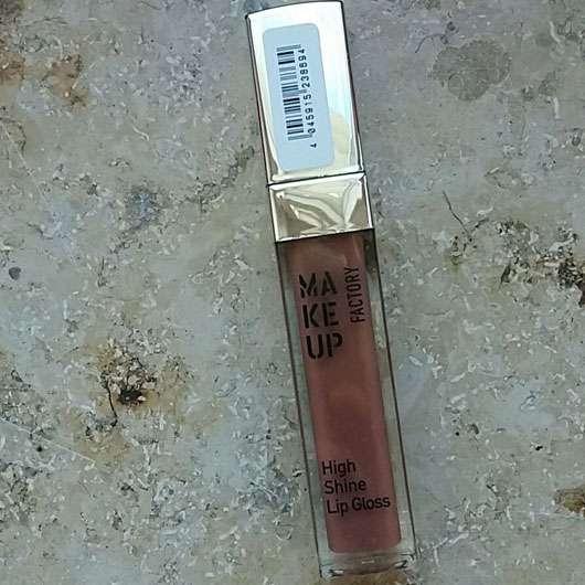 Make up Factory High Shine Lip Gloss, Farbe: 9 Brown Rose
