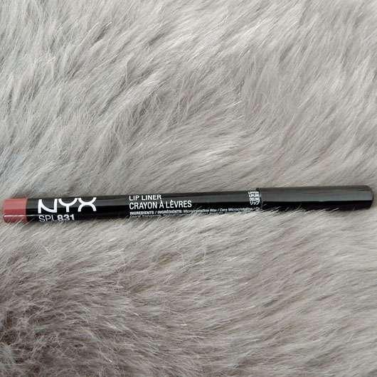 <strong>NYX</strong> Slim Lip Pencil - Farbe: 831 Mauve