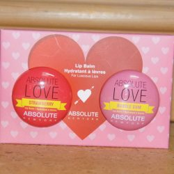"Produktbild zu ABSOLUTE NEW YORK Duo Lip Balm ""Absolute Love"" (Strawberry + Bubble Gum)"
