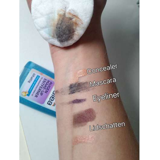 Geliebte Test - Augen Make-up Entferner - Balea Augen Make-up Entferner #KV_09