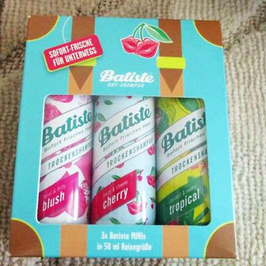 Batiste Travel-Set (LE) - Verpackung