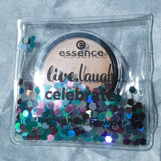 essence live. laugh. celebrate! highlighter powder, Farbe: 01 my special highlight (LE)