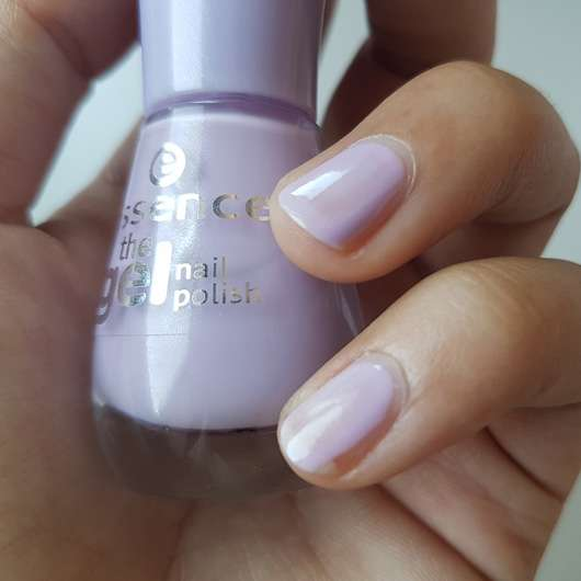 essence the gel nail polish, Farbe: 21 a whisper of spring Flasche