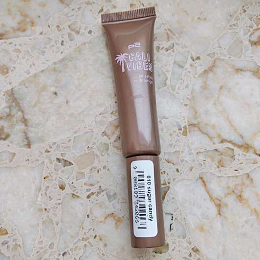 p2 cali vibes let's style eyebrow gel, Farbe: 010 sugar candy