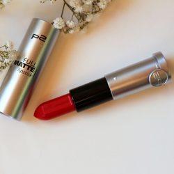 Produktbild zu p2 cosmetics full matte lipstick – Farbe: 010 spread knowledge