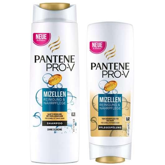 Mizellen Reinigung für das Haar von Pantene Pro-V