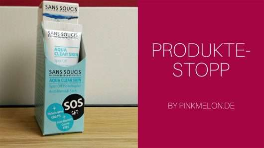 Soforthilfe mit dem Sans Soucis Aqua Clear Skin SOS Pickelset
