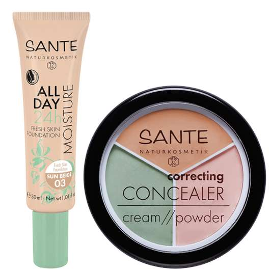 Neues SANTE Natural Make-up