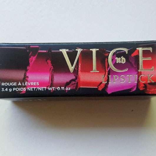 Urban Decay VICE Lipstick, Farbe: Streak (Cream Finish) - Verpackung