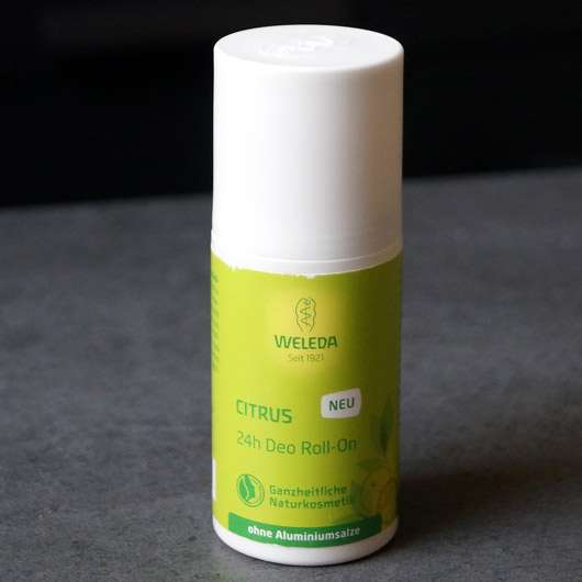 Weleda CITRUS 24h Deo Roll-On - Verpackung
