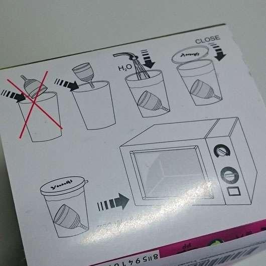 Yuuki Economic Soft Small 1 - Reinigungshinweise auf der Verpackung