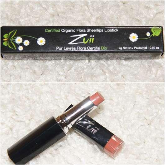ZUII ORGANIC Sheerlips Lipstick in der Farbe Fern