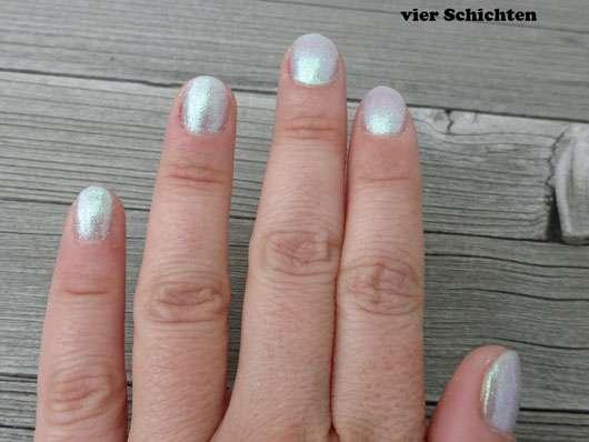 IsaDora Nail Glow, Farbe: 843 Aqua Glow (LE) - 4 Schichten Farbe