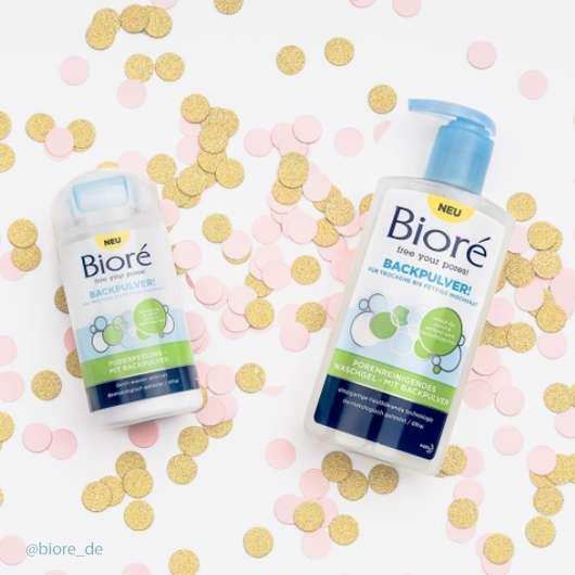 Innovation von Bioré: Gesichtsreinigung mit Backpulver