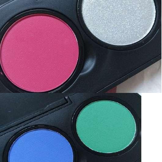 essence live. laugh. celebrate! eyeshadow palette, Farben: 04, 08, 09, 10 (LE) - Farben