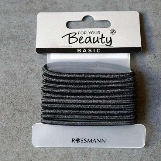 """for your Beauty Basic Haargummis """"Steffi"""", Farbe: Schwarz - Blister"""
