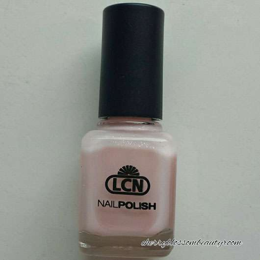 LCN Nail Polish, Farbe: my wedding day (LE) - Flakon