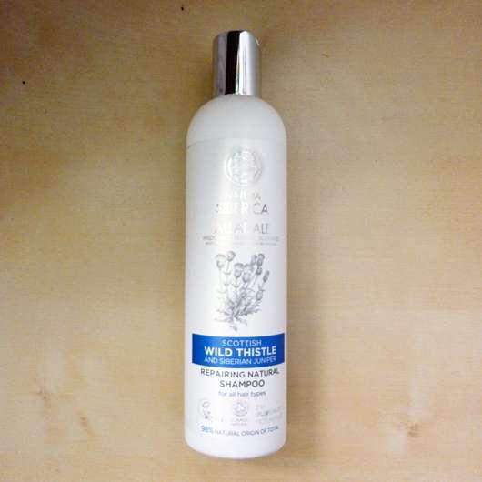 NATURA SIBERICA AND ALLADALE Wild Thistle Regenerierendes Natürliches Shampoo