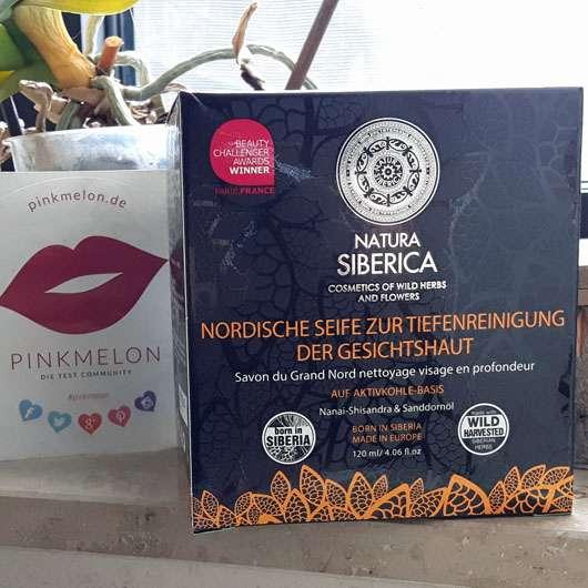 NATURA SIBERICA Nordische Seife zur Tiefenreinigung der Gesichtshaut - Verpackung