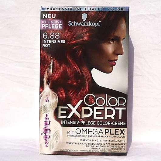 Haare rot colorieren