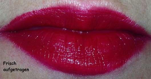 Urban Decay VICE Lipstick, Farbe: Rock Steady (Cream Finish) - auf den Lippen aufgetragen