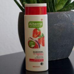 Produktbild zu Alterra Naturkosmetik Duschgel Bio-Erdbeere & Bio-Feige