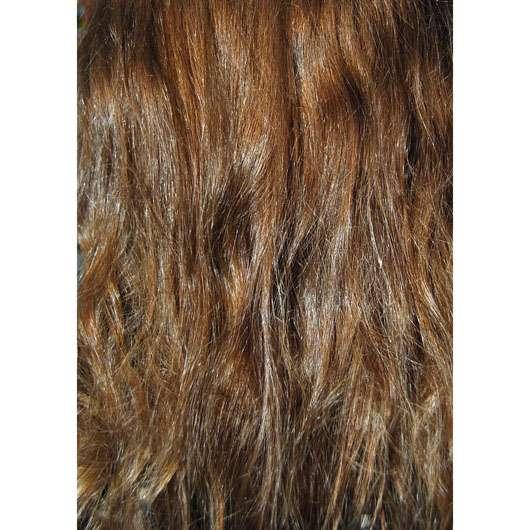 alverde 2in1 Express Haarkur Bio-Zitrone und Bio-Papaya - Haare vor der Anwendgung