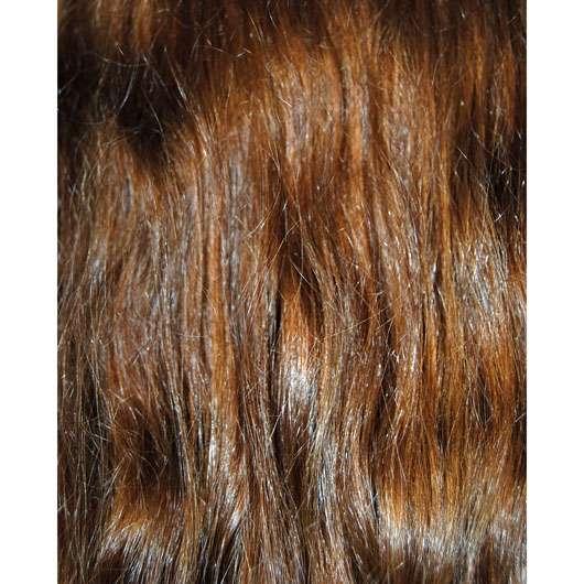 alverde 2in1 Express Haarkur Bio-Zitrone und Bio-Papaya - Haare nach der Anwendgung