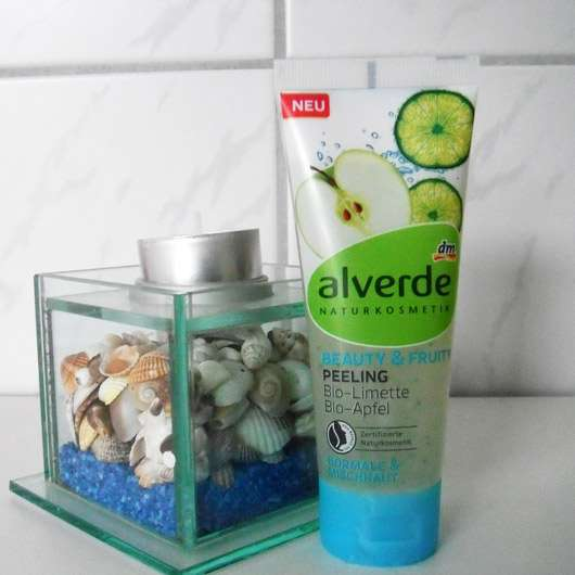 alverde Beauty & Fruity Peeling Bio-Limette Bio-Apfel
